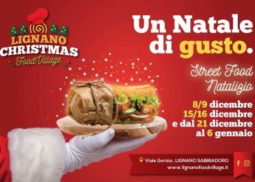 UN NATALE DI GUSTO – LIGNANO CHRISTMAS FOOD VILLAGE